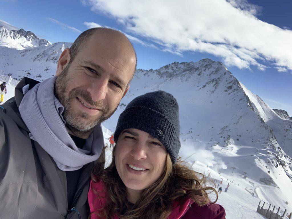 עם אפרת באתר הסקי