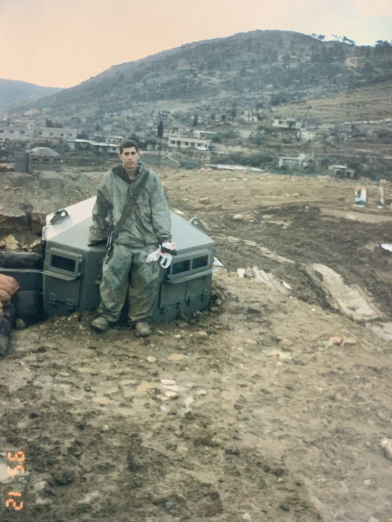 אני, במוצב בלבנון